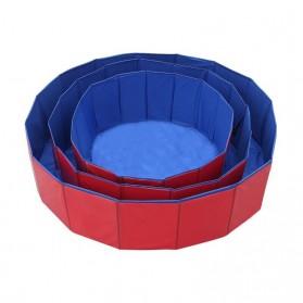 Yabstrip Kolam Renang Lipat Foldable Swimming Pool 80x20cm - Y007 - Blue - 5