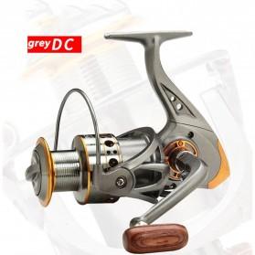 DiaoDeLai Reel Pancing Fishing Reel Kumparan Pancing 13 Ball Bearing 5.2:1 - DC3000 - Gray