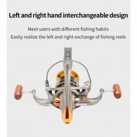DiaoDeLai Reel Pancing Fishing Reel Kumparan Pancing 13 Ball Bearing 5.2:1 - DC5000 - Gray - 2