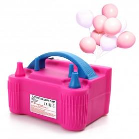 HoldPeak Pompa Balon Balloon Air Pump 2 Nozzle - 73005S - Pink