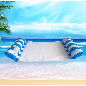 Doffy Pelampung Renang Floating Hammock Inflatable Water Bed - XY20 - Blue