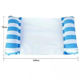 Doffy Pelampung Renang Floating Hammock Inflatable Water Bed - XY20 - Blue - 11