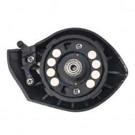 SNAKESKIN Reel Pancing Baitcasting Fishing Reel 18+1 Ball Bearing 7.2:1 Left Hand - EL1000 - Black - 11