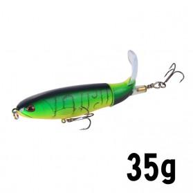 Atriptime Umpan Pancing Popper Fishing Lure Bentuk Ikan Long Tall 35G - SCF3109 - Green