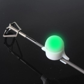 FRP Sinyal Joran Pancing Indikator LED Fishing Bite Signal - R4 - White