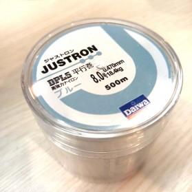 JUSTRON Senar Tali Benang Pancing Nylon Series Braided Thick Line 8.0 500 Meter - DPLS - White - 4
