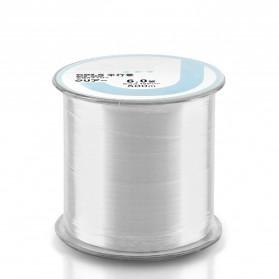 JUSTRON Senar Tali Benang Pancing Nylon Series Braided Thick Line 6.0 500 Meter - DPLS - White