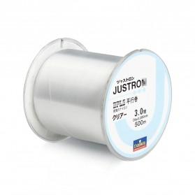 JUSTRON Senar Tali Benang Pancing Nylon Series Braided Thick Line 6.0 500 Meter - DPLS - White - 2