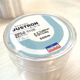 JUSTRON Senar Tali Benang Pancing Nylon Series Braided Thick Line 6.0 500 Meter - DPLS - White - 4