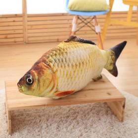 SEASENXI Ikan Mainan Kucing Cat Favor Fish Toys Chewing Simulation Catnip 30cm - SX001 - Dark Blue - 5