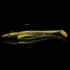 WALKFISH Umpan Pancing Ikan Flashing Jig Sea Lure Bait 12.5CM - WF001 - Golden