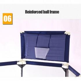 IMBABY Mainan Kolam Mandi Bola Anak Ball Pool Model Hexagonal - B-300 - Blue - 2