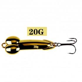 JYJ Umpan Pancing Ikan Metal Fishing Lure 20G - YA26 - Golden