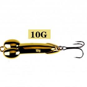 JYJ Umpan Pancing Ikan Metal Fishing Lure 10G - YA26 - Golden