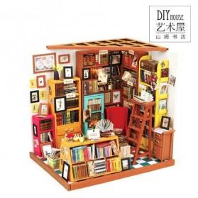 ROLIFE Cute Room Miniatur Rumah Boneka 3D DIY 1:24 - DG102 - Brown