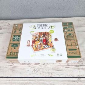 ROLIFE Cute Room Miniatur Rumah Boneka 3D DIY 1:24 - DG102 - Brown - 11