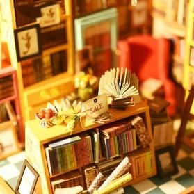 ROLIFE Cute Room Miniatur Rumah Boneka 3D DIY 1:24 - DG102 - Brown - 2
