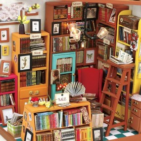 ROLIFE Cute Room Miniatur Rumah Boneka 3D DIY 1:24 - DG102 - Brown - 4