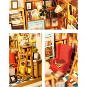 ROLIFE Cute Room Miniatur Rumah Boneka 3D DIY 1:24 - DG102 - Brown - 5