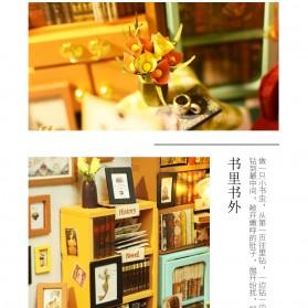 ROLIFE Cute Room Miniatur Rumah Boneka 3D DIY 1:24 - DG102 - Brown - 7