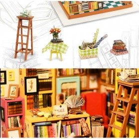 ROLIFE Cute Room Miniatur Rumah Boneka 3D DIY 1:24 - DG102 - Brown - 9