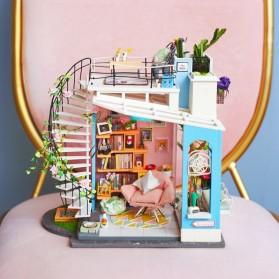 ROLIFE Cute Room Miniatur Rumah Boneka 3D DIY 1:24 - DG12 - White