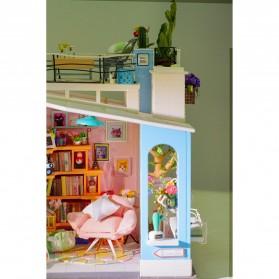 ROLIFE Cute Room Miniatur Rumah Boneka 3D DIY 1:24 - DG12 - White - 10