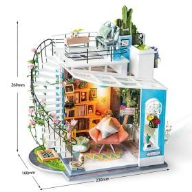 ROLIFE Cute Room Miniatur Rumah Boneka 3D DIY 1:24 - DG12 - White - 11