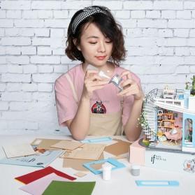 ROLIFE Cute Room Miniatur Rumah Boneka 3D DIY 1:24 - DG12 - White - 2