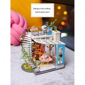 ROLIFE Cute Room Miniatur Rumah Boneka 3D DIY 1:24 - DG12 - White - 5