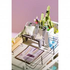 ROLIFE Cute Room Miniatur Rumah Boneka 3D DIY 1:24 - DG12 - White - 7