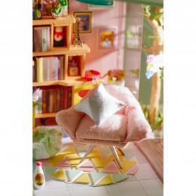 ROLIFE Cute Room Miniatur Rumah Boneka 3D DIY 1:24 - DG12 - White - 8