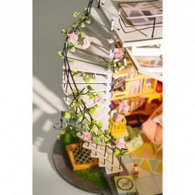 ROLIFE Cute Room Miniatur Rumah Boneka 3D DIY 1:24 - DG12 - White - 9