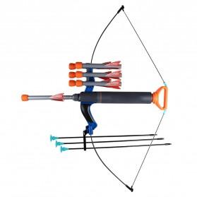 Arcry Set Mainan Busur Panah Anak 3PCS Foldable Archery Toy - 474WCJ - Blue
