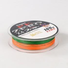Zero Senar Benang Tali Pancing Super PE 4 Braid Line 2.0 100 Meter - X4 - 3