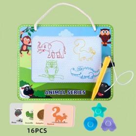 RoundCup Papan Gambar Anak Magnetic Drawing Writing Board - RC8801