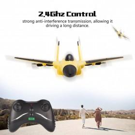 FEI XIONG Remote Control Pesawat Terbang Glider Airplane Foam 2.4G RC - FX-820 - Yellow - 4