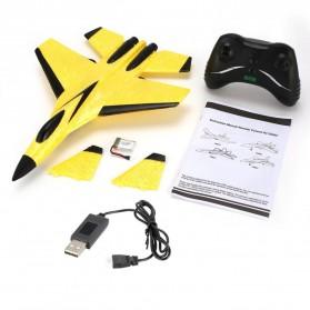 FEI XIONG Remote Control Pesawat Terbang Glider Airplane Foam 2.4G RC - FX-820 - Yellow - 8