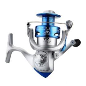 Haichao TBS3000 Reel Pancing Fishing Reel 12 Ball Bearing - Silver Blue