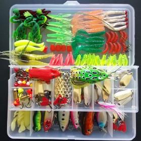 LIXADA Umpan Pancing Ikan Set Fishing Bait Kit - DWS250-I - Multi-Color