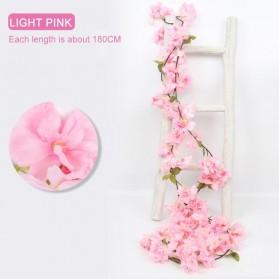 Fleur Tanaman Artificial Plants Decoration Sakura 1.8 Meter - A013 - Pink