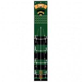 FluxGlobal Karpet Golf Indoor Training Ball Hitting Carpet - FL1201 - Green