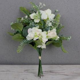 Fleur Tanaman Buket Bunga Hias Plastik Artificial Dekorasi - A021 - Green