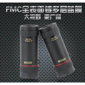 MOGE Teropong Monokular Ultra Clear Bidirectional 8 x 18 - Black - 3