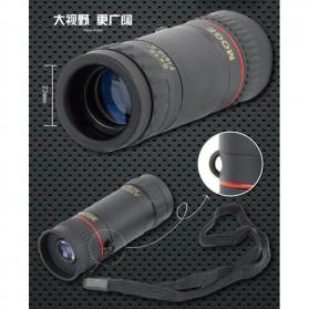 MOGE Teropong Monokular Ultra Clear Bidirectional 8 x 18 - Black - 9