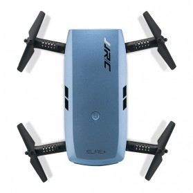 JJRC H47 ELFIE Plus Quadcopter Foldable Mini Drone With HD Camera - Blue - 3