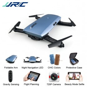 JJRC H47 ELFIE Plus Quadcopter Foldable Mini Drone With HD Camera - Blue - 5