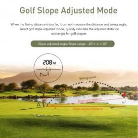 APEXEL Teropong Golf Jarak Laser Rangefinder 1200M 6X - APL-LRM1200GY - Gray - 2