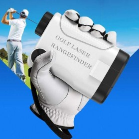 APEXEL Teropong Golf Jarak Laser Rangefinder 1200M 6X - APL-LRM1200GY - Gray - 7