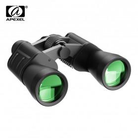 APEXEL Teropong Berburu Binoculars Compact Zoom 7x50 - APL-PB7X50 - Black
